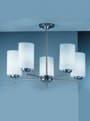 Franklite CO9305/727 Matt Nickel Ceiling Light